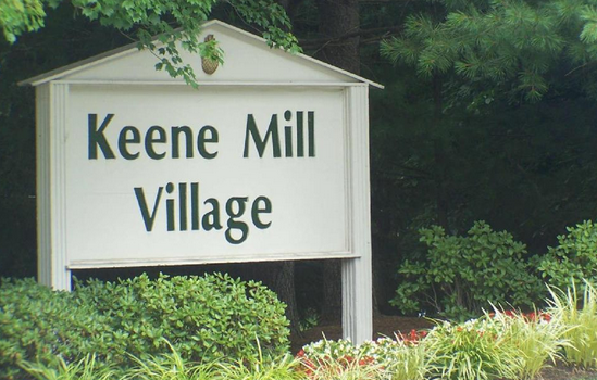 Keene Mill Village Sign